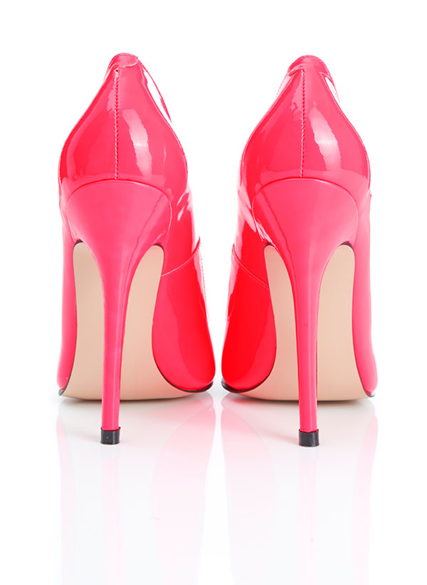 a4d8f44800cc Shoes    Paris  Patent Hot Pink Pointed Toe High Heel Pump