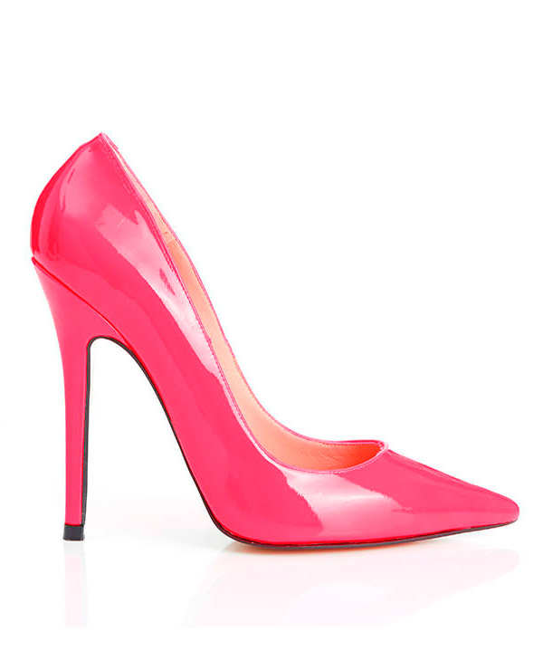 3037767ae3ea ... Pointed Toe High Heel Pump. Paris Patent Leather Hot Pink High Heel