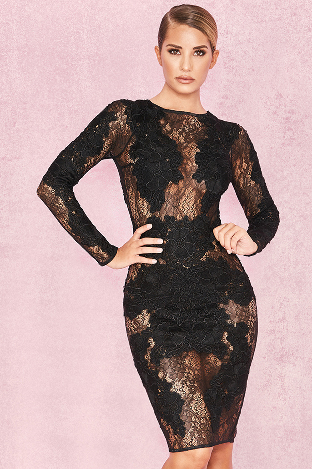 Looks - Lace black dresses video