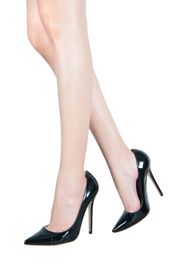 2a4a44af7cd Shoes    Paris  Patent Leather Black Pointed Toe High Heel Pump