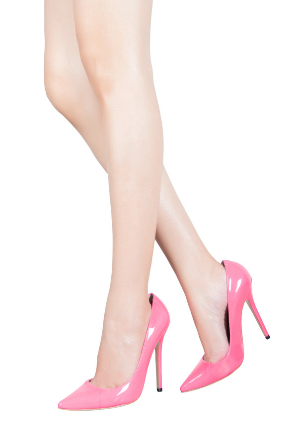 83ca061c1bb7 Shoes    Paris  Patent Hot Pink Pointed Toe High Heel Pump