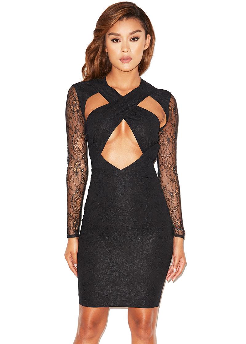 Peek a boob dress apologise, but