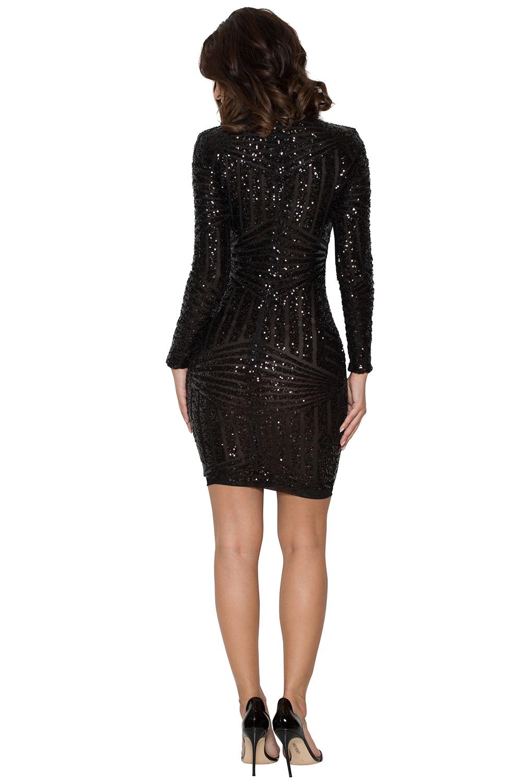 Clothing Bodycon Dresses Zouita Black Embellished