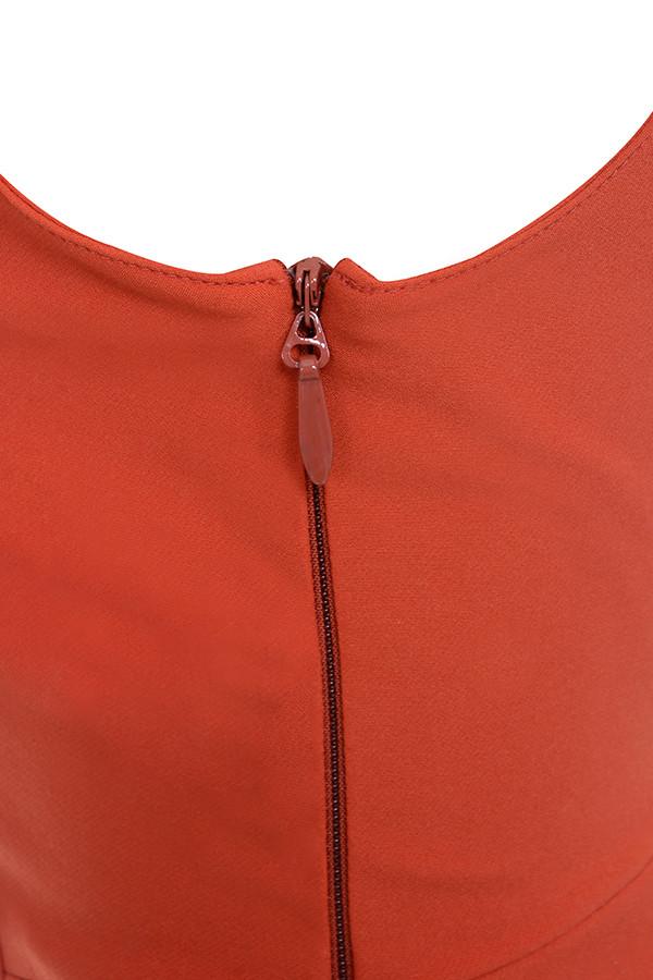 fddce9f9da Clothing   Jumpsuits    Natalja  Red V Plunge Jumpsuit