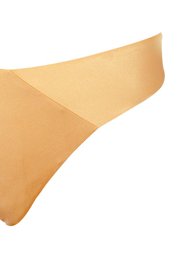 8596597b85c2c gold barcelona swimsuit. View larger image. barcelona gold swimsuit. View  larger image. Barcelona Metallic Bronze Wrap Over Bardot ...