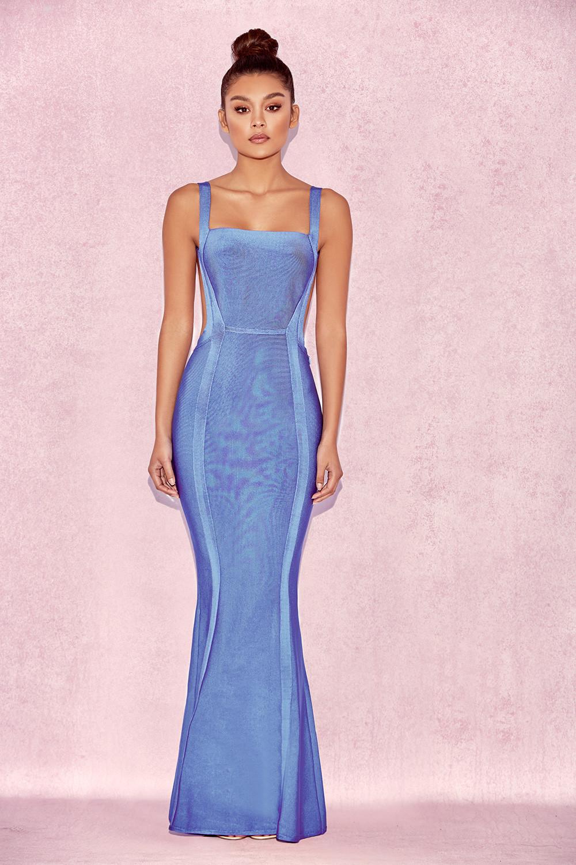 Cornflower Blue Dress