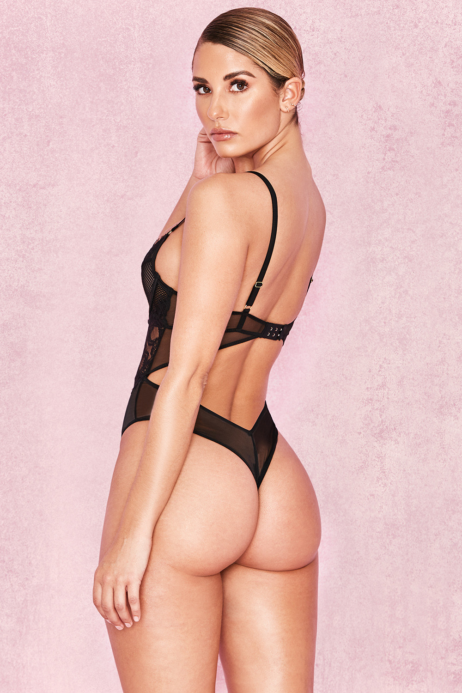 ad42188fdb926 Intimates    Nadia  Black Lace Bodysuit