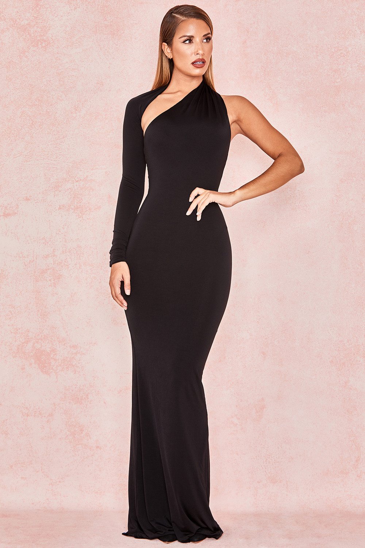 778c3b1c78c Merveille Black Wrap Sleeve Maxi Dress View Larger Image. Clothing Max  Dresses Merveille Black ...