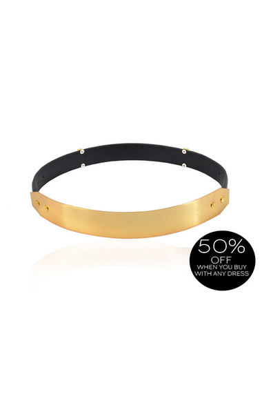 Signature Gold Metal Waist Belt