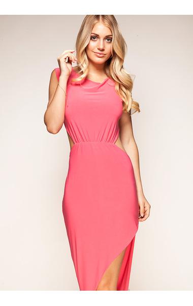 Gabriella Coral Maxi Dress