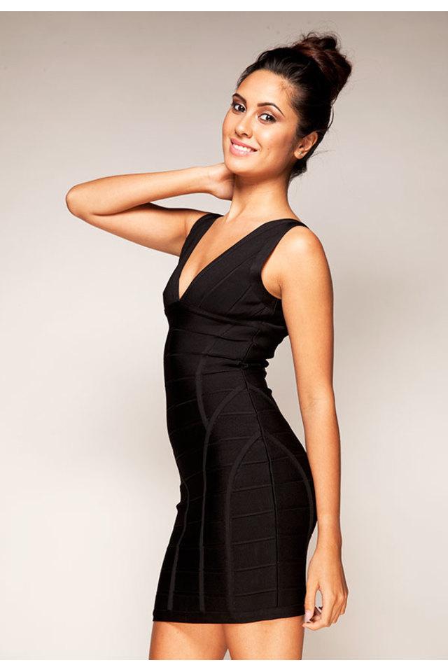 Jenna Black Bandage Dress
