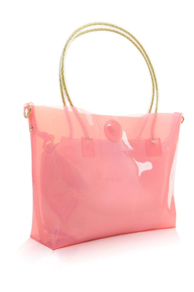 Sugardaddy Pink Jelly Shopper