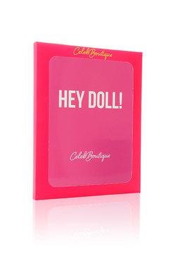 Hey Doll Printed iPad Cover