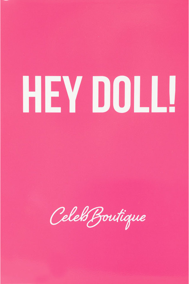 Hey Doll Printed iPad Cover