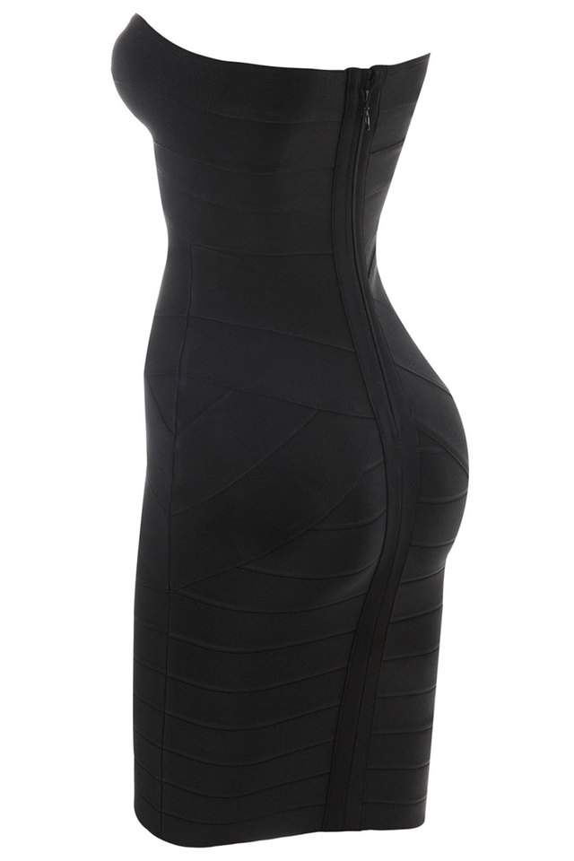 Leyla Black Bandage Dress