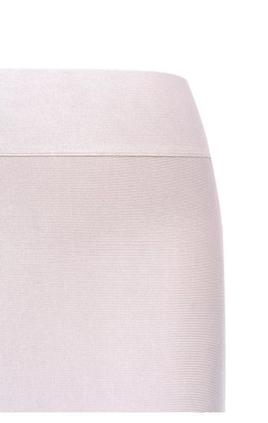 Taupe bandage skirt