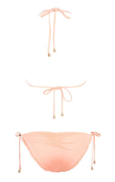 Low rise peach bikini