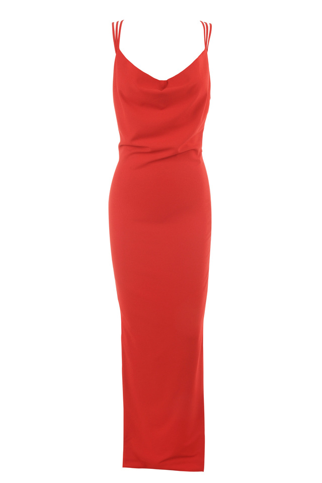 The low back maxi dress