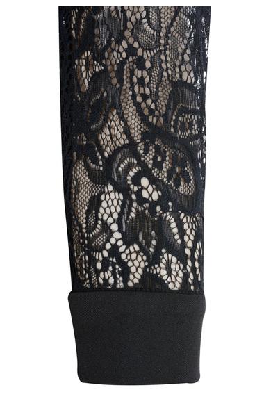 stefanel in black lace