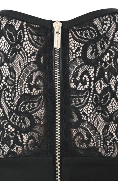 stefanel stretch crepe jumpsuit