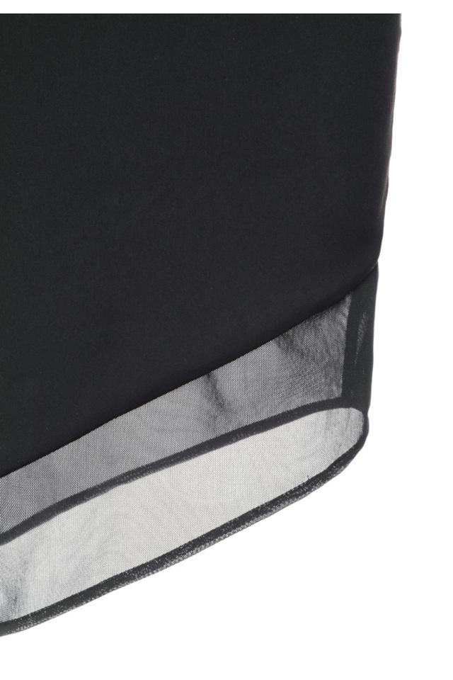 the caprice dress in black