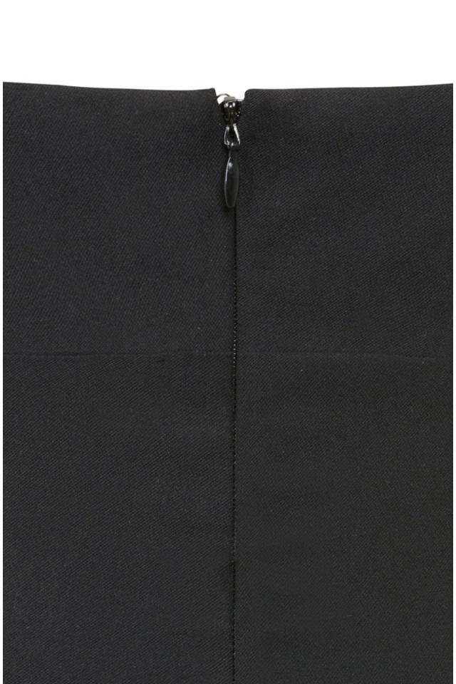 caprice black lace dress