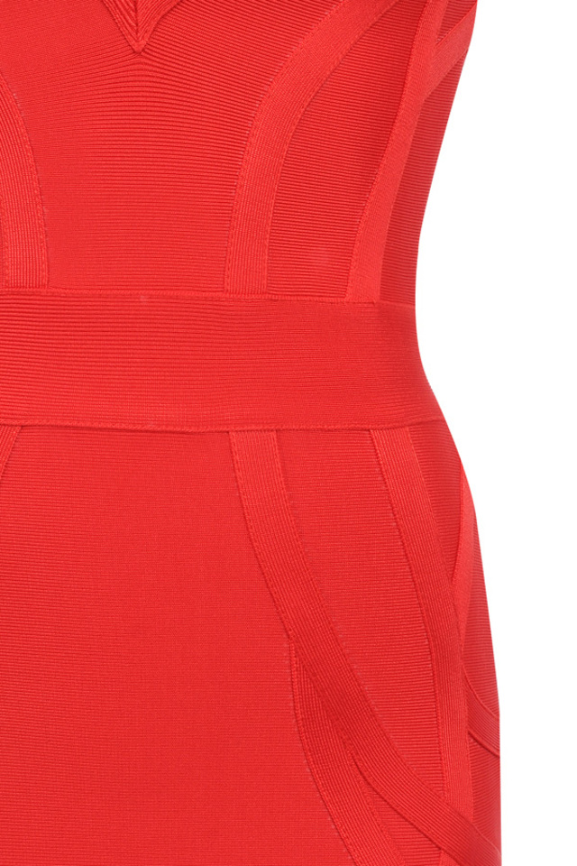 the cici dress in red