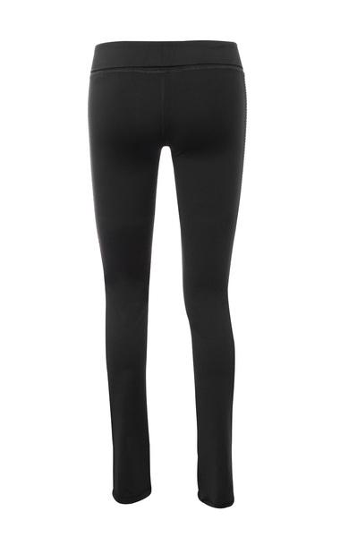 black devi pants