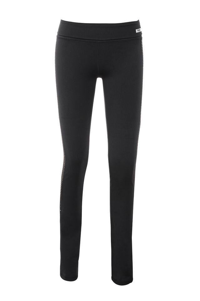 the devi workout pants in black