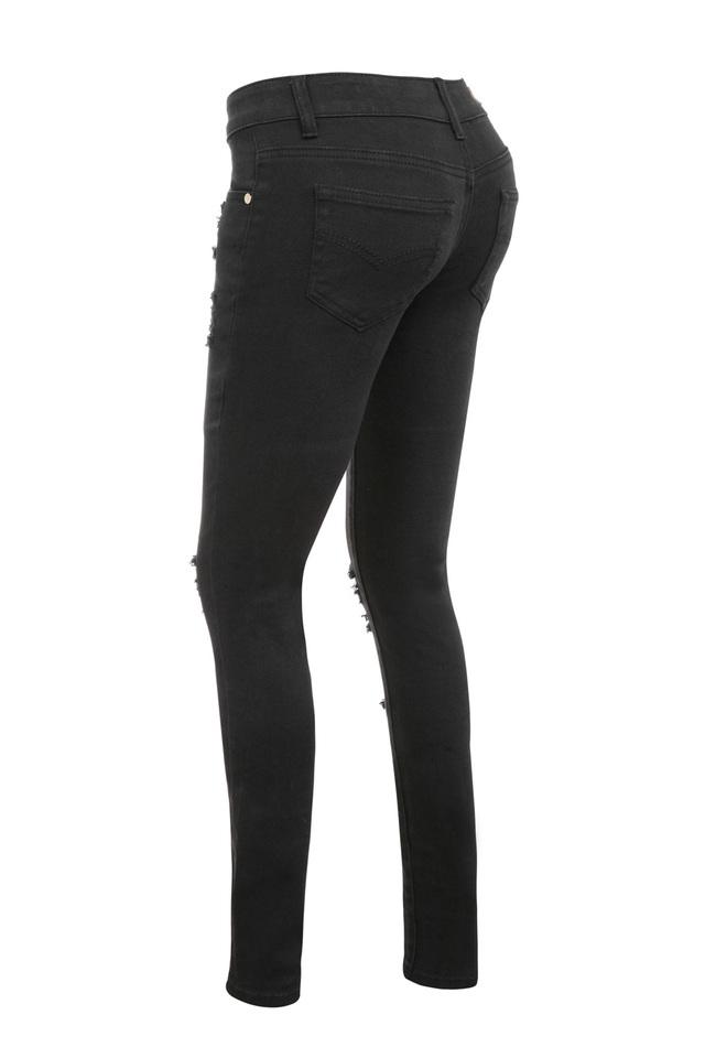 black starlet jeans