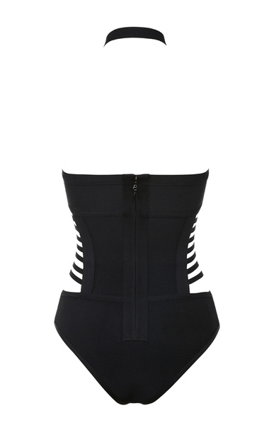 sauvage swimsuit in black