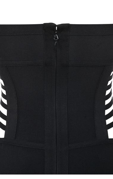 the black sauvage swimsuit