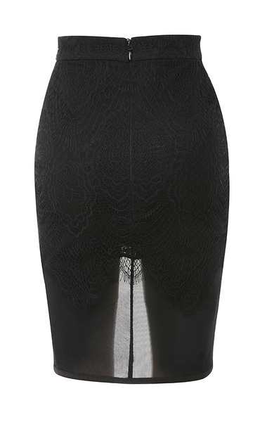 black viviana skirt