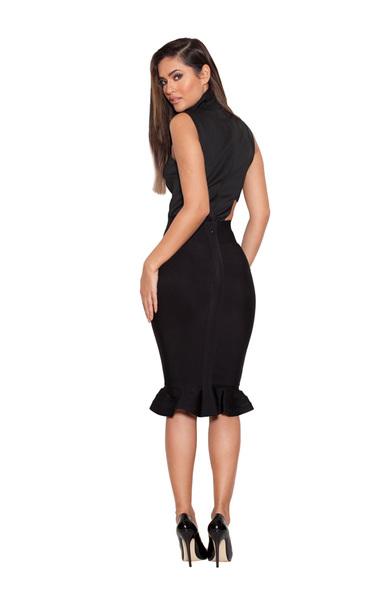 the lidia skirt in black