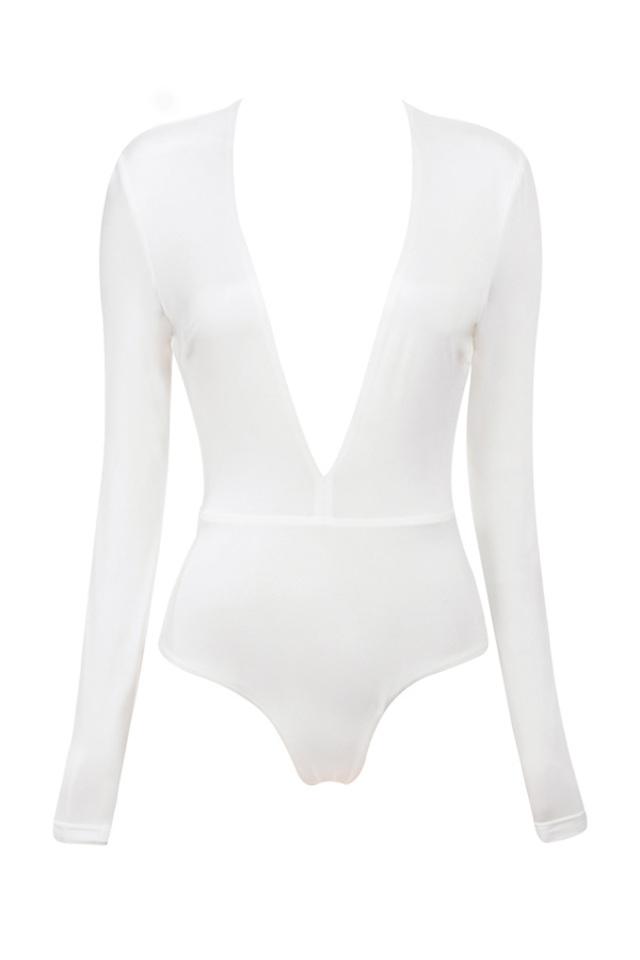 white lorenza bodysuit