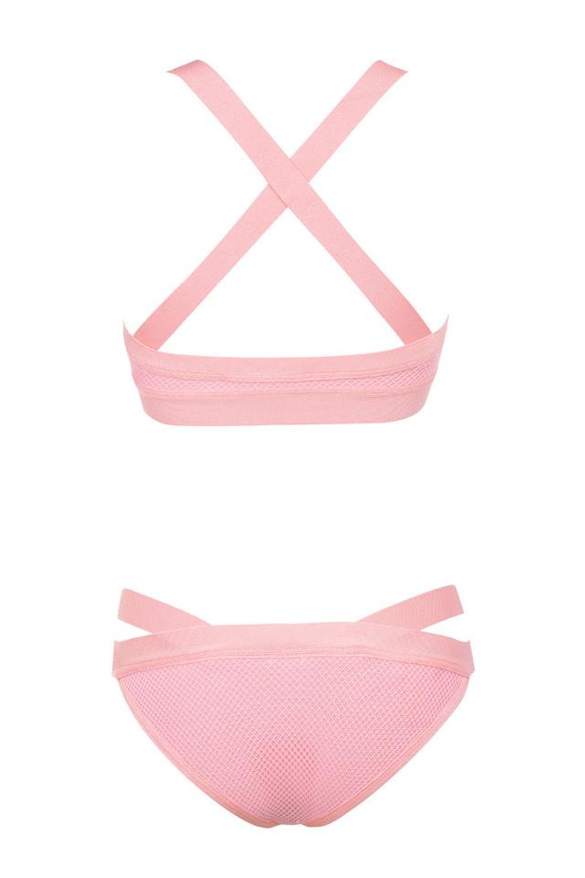 Pink Bandage  bikini