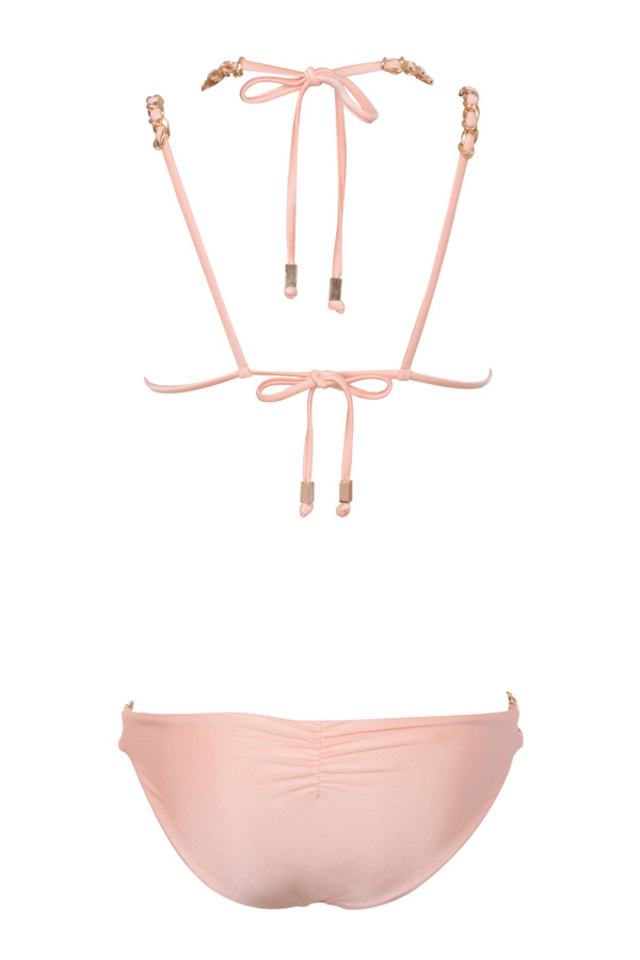 samoa swimwear in peach