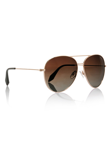 Gold House of CB Aviator Sunglasses
