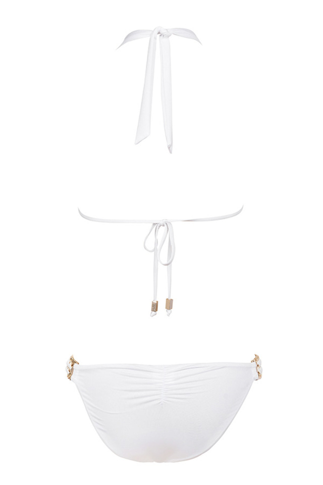 fiji bikini in white