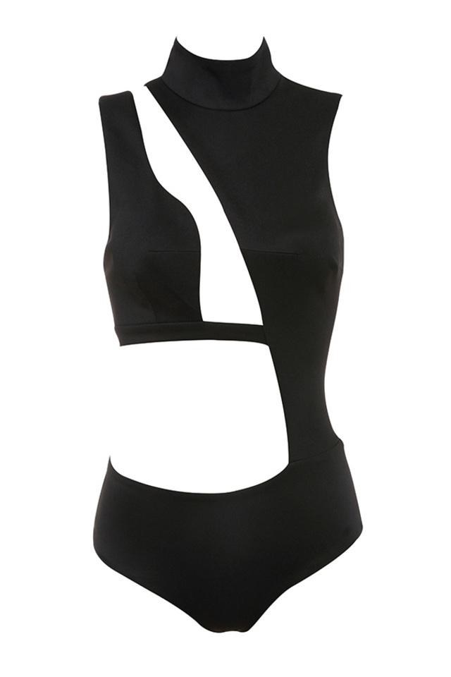 malla in black
