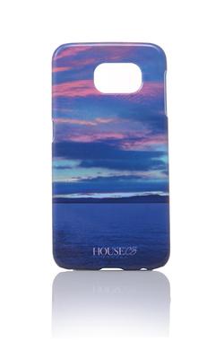 Sunset Blue Graphic Print Phone Case