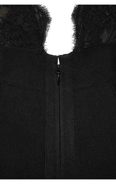 balere dress in black