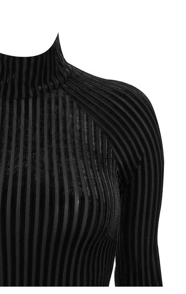 black diega bodysuit
