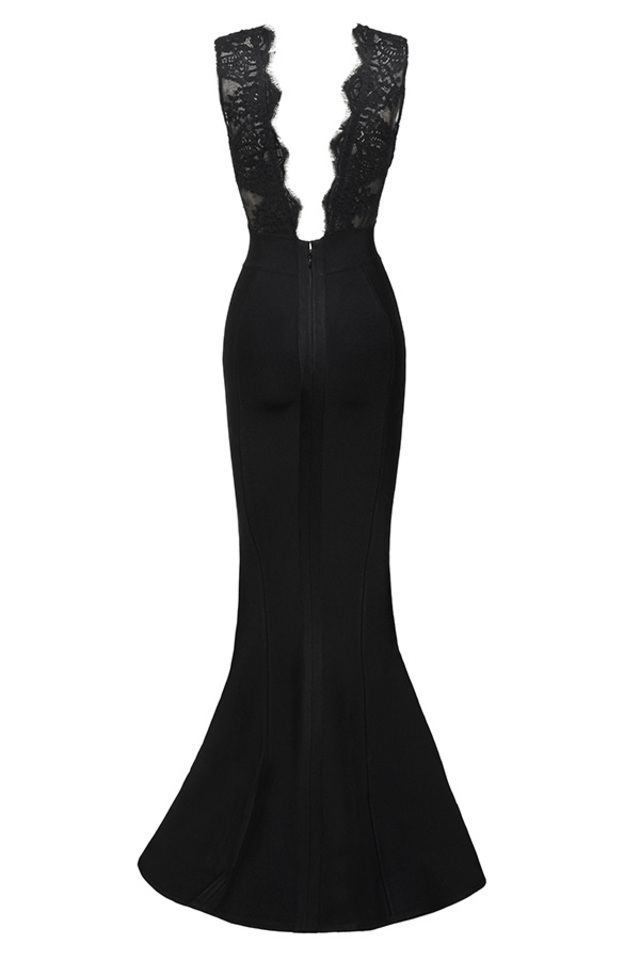 balere maxi in black