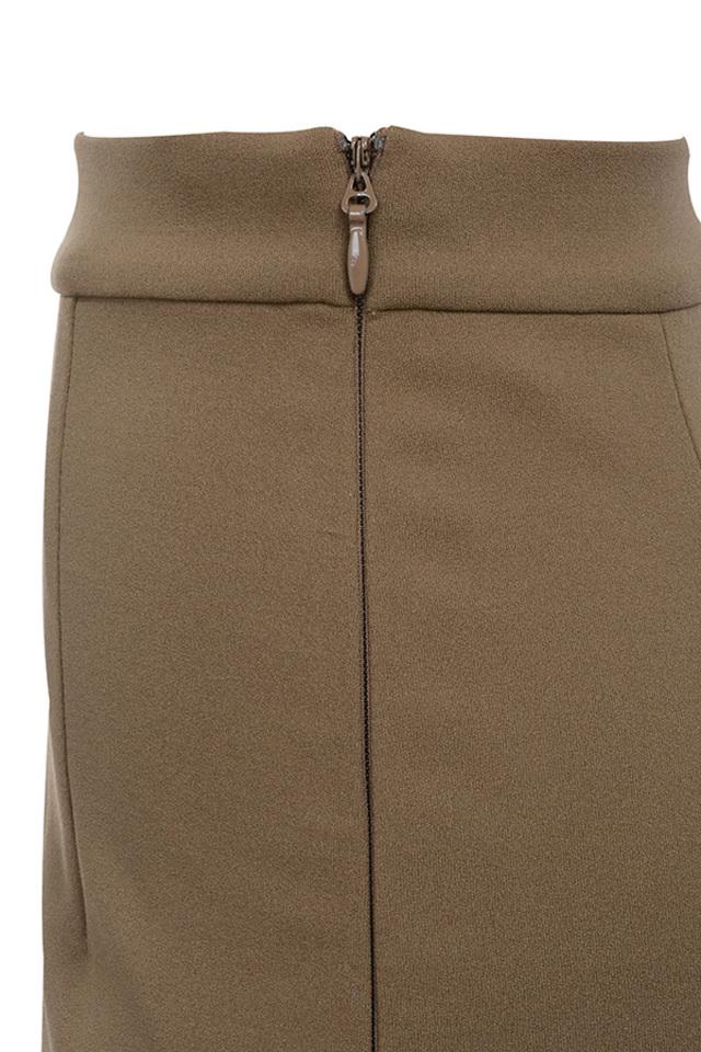 caspiana dress in brown
