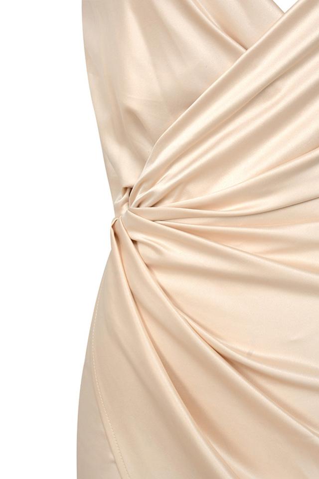 nude coco dress