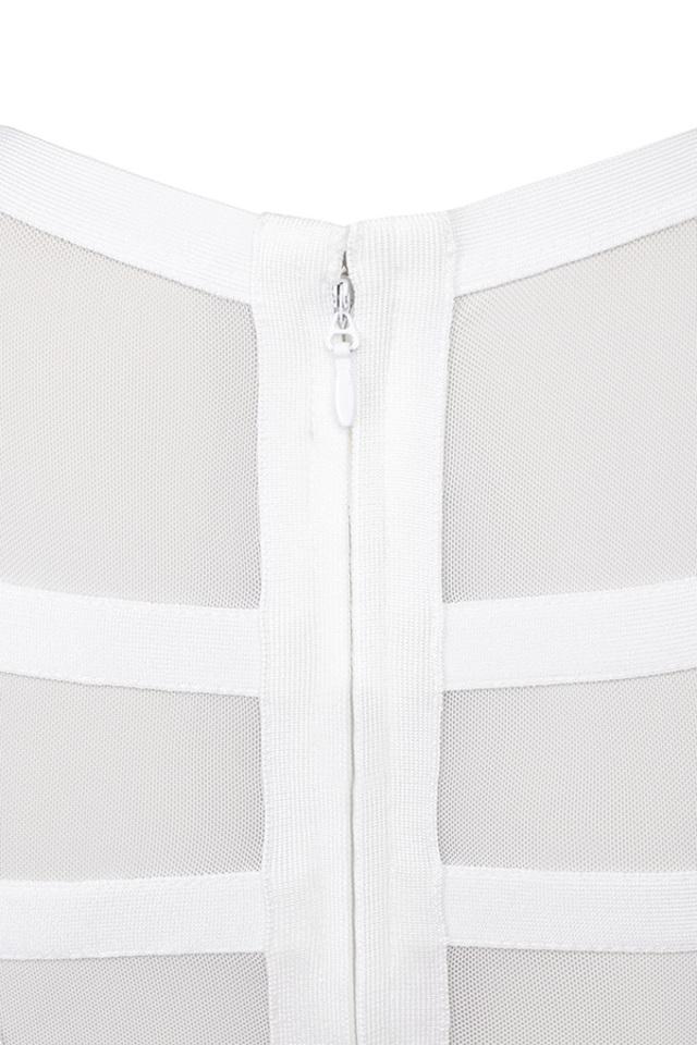 white larina top