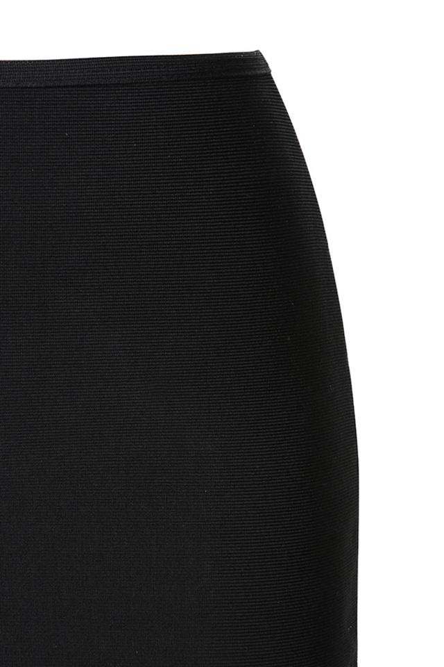 black roche dress