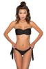 Sicilia Black Bandeau Bikini