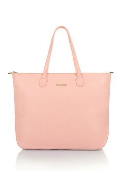 Pin Up Peach House of CB Vegan Leather Tote